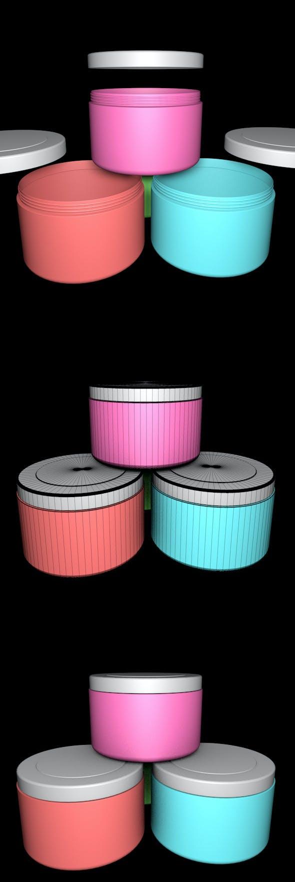 Plastic Sample Box - 3DOcean Item for Sale