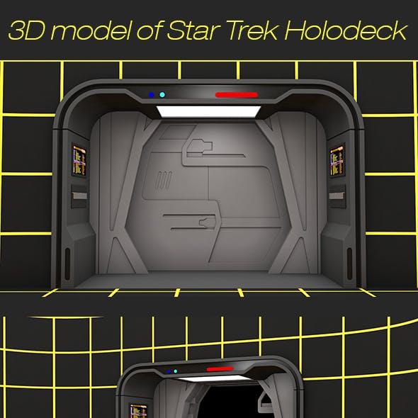3D model of Star Trek Holodeck