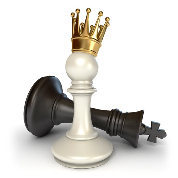 Pawn Victory over King