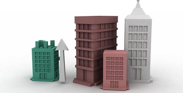 Building Content Model - 3DOcean Item for Sale