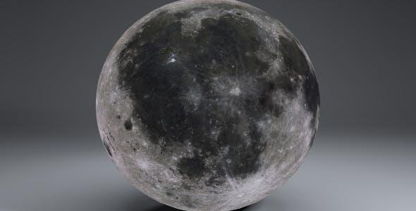 MoonGlobe 8k - 3DOcean Item for Sale