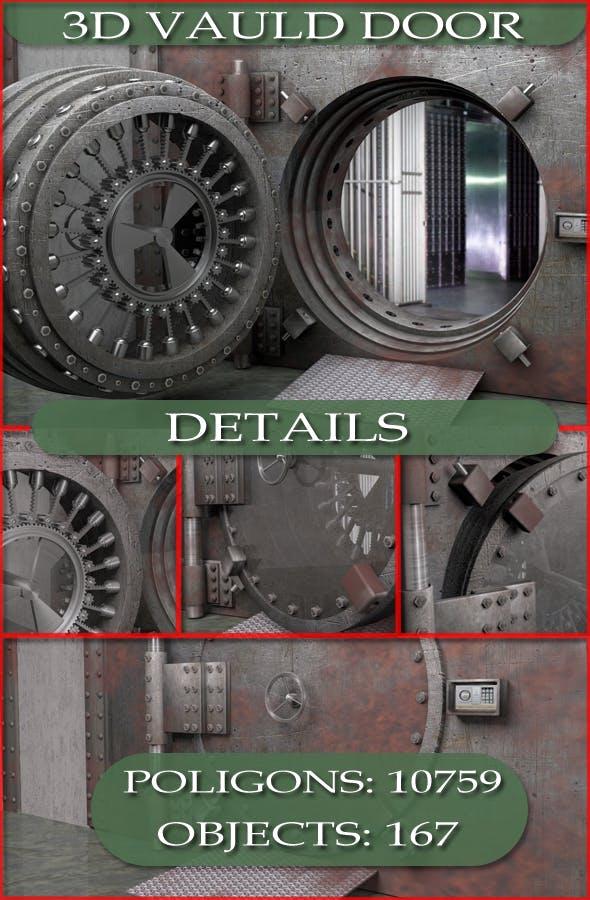 Bank Vault - 3DOcean Item for Sale