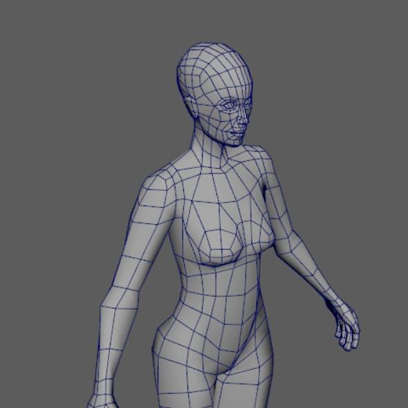 Female base mesh