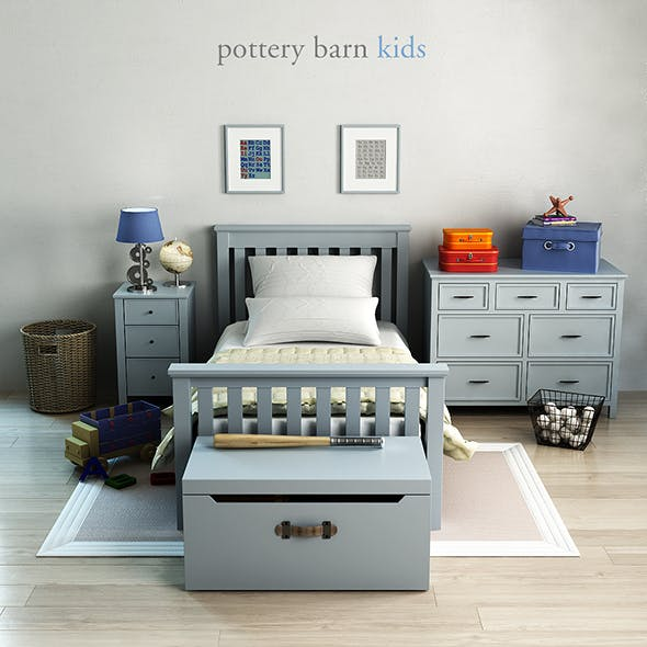 Pottery barn, Elliott Bed