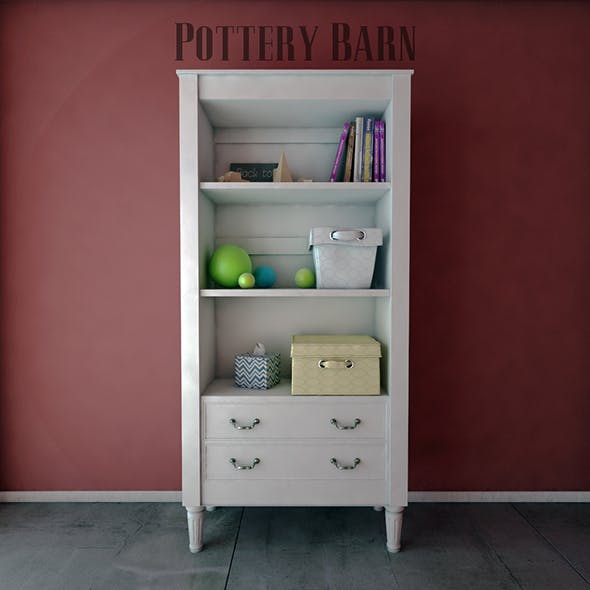 Pottery Barn Kids Bookcases