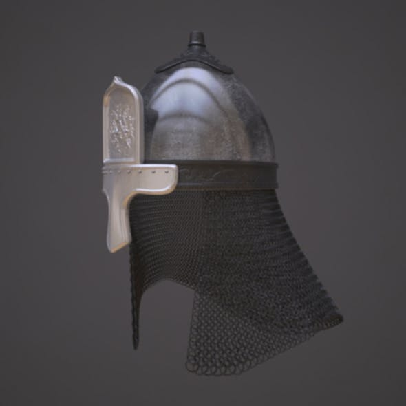 Russian helmet with icon - 3DOcean Item for Sale