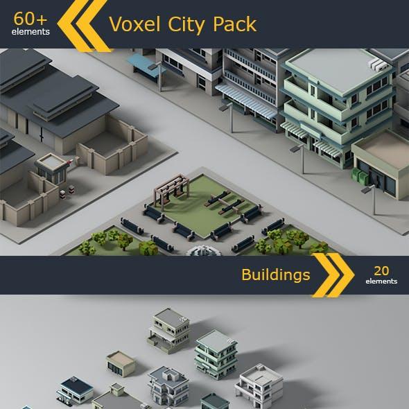 Voxel City Pack
