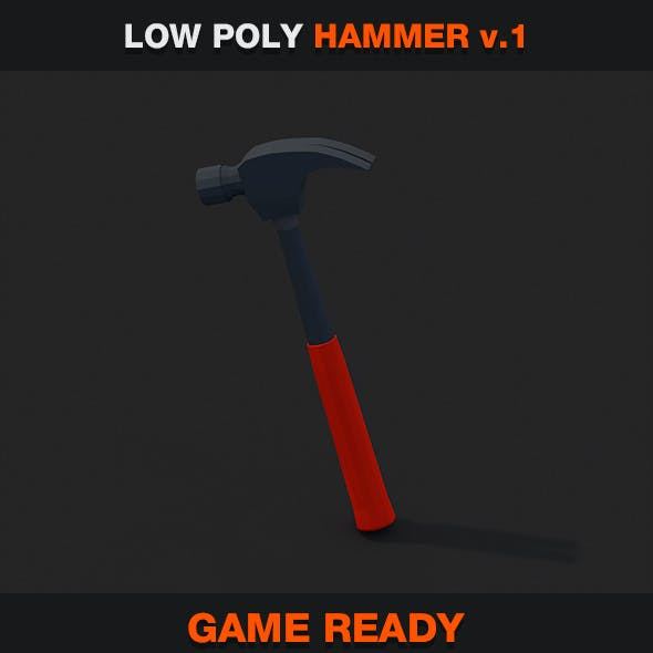 Low Poly Hammer v.1