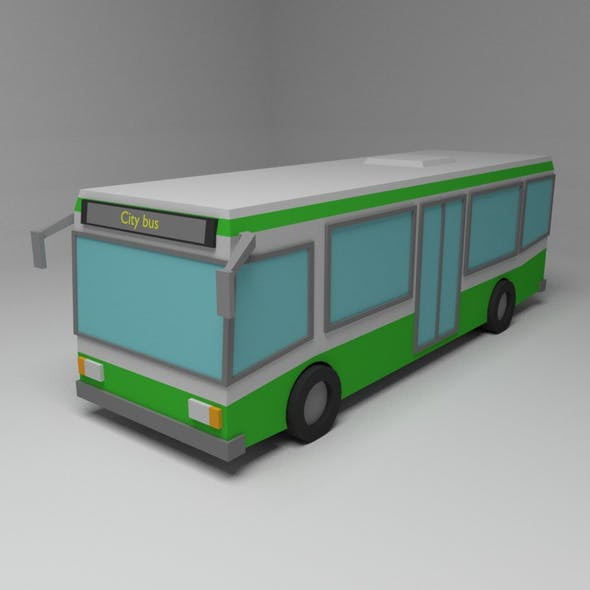 Bus - 3DOcean Item for Sale