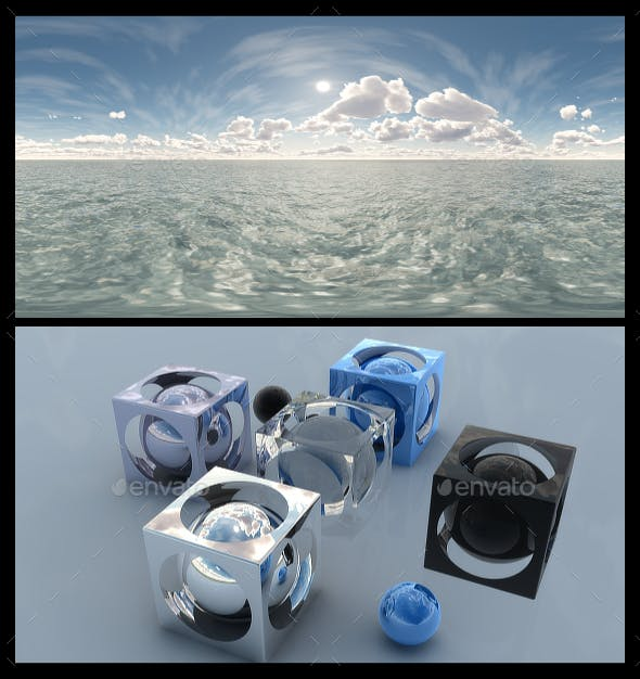 Ocean Bright Day 11 - HDRI - 3DOcean Item for Sale