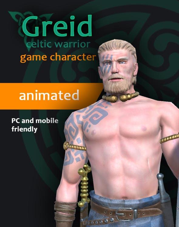 Greid Celtic Warrior - 3DOcean Item for Sale
