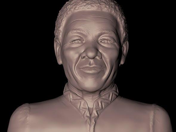 Mr Nelson Mandela - 3DOcean Item for Sale