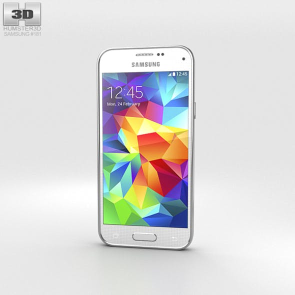Samsung Galaxy S5 mini Shimmery White - 3DOcean Item for Sale
