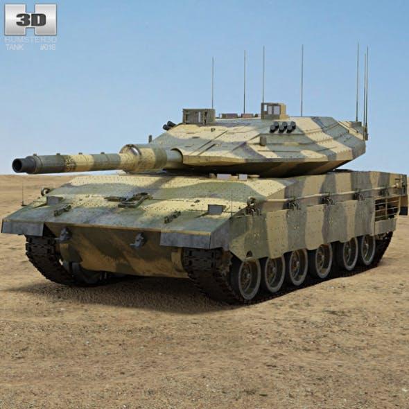 Merkava Mark IV - 3DOcean Item for Sale