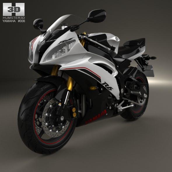 Yamaha YZF-R6 2014 - 3DOcean Item for Sale