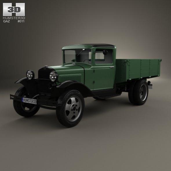GAZ-AA Flatbed Truck 1932
