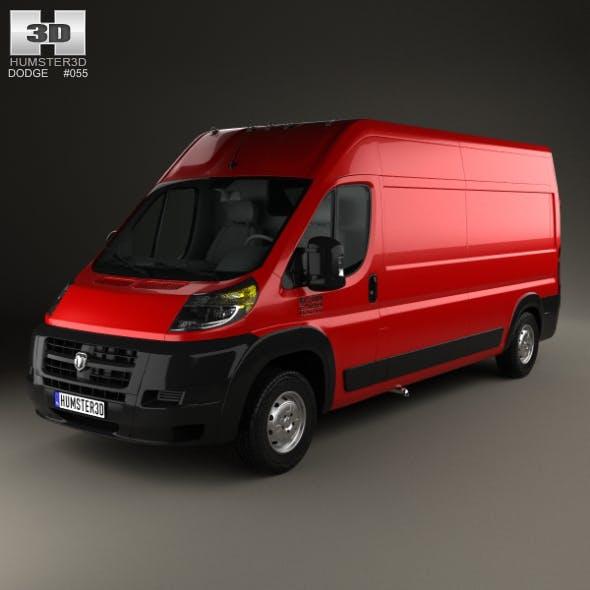 Dodge Ram ProMaster Cargo Van L3H2 2013