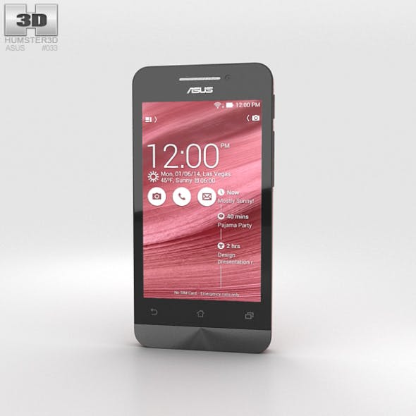 Asus Zenfone 4 Cherry Red