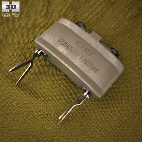 M18 Claymore mine - 3DOcean Item for Sale