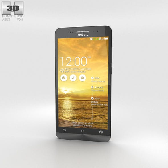 Asus Zenfone 6 Champagne Gold - 3DOcean Item for Sale