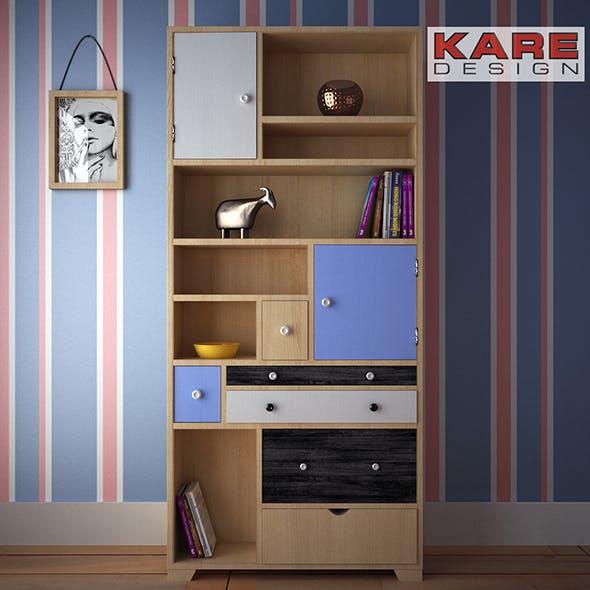 KareDesign shelf Babalou - 3DOcean Item for Sale