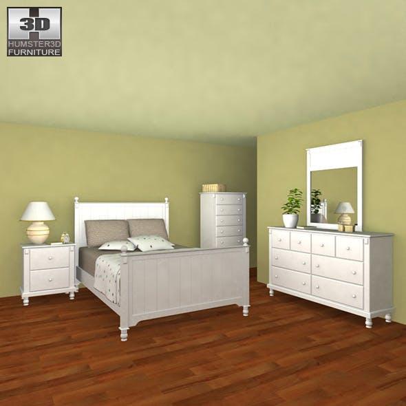 Bedroom Furniture 06 Set - 3DOcean Item for Sale