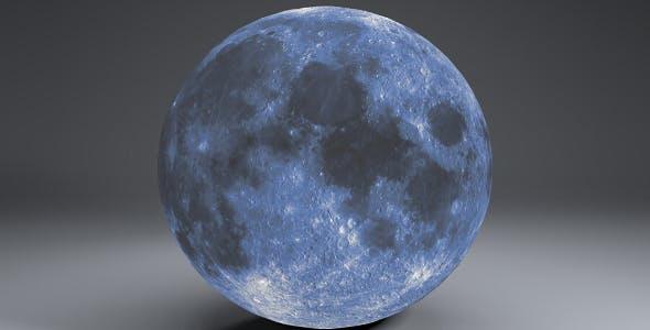 Blue MoonGlobe 11k - 3DOcean Item for Sale