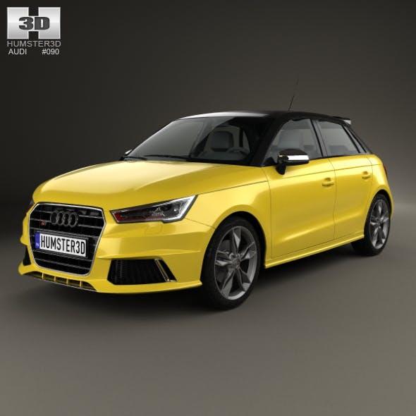 Audi S1 sportback 2014 - 3DOcean Item for Sale