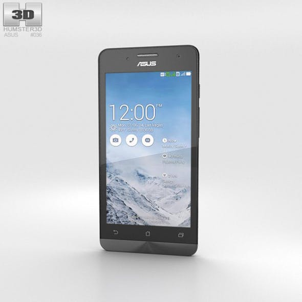 Asus Zenfone 5 Pearl White - 3DOcean Item for Sale