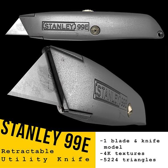 Stanley 99E Utility Knife 3D Model