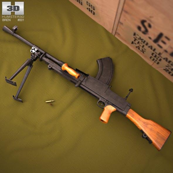 Bren Mk2 - 3DOcean Item for Sale