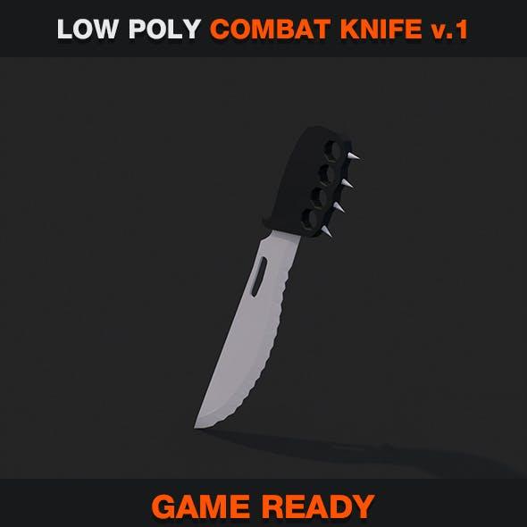 Low Poly Combat Knife v.1