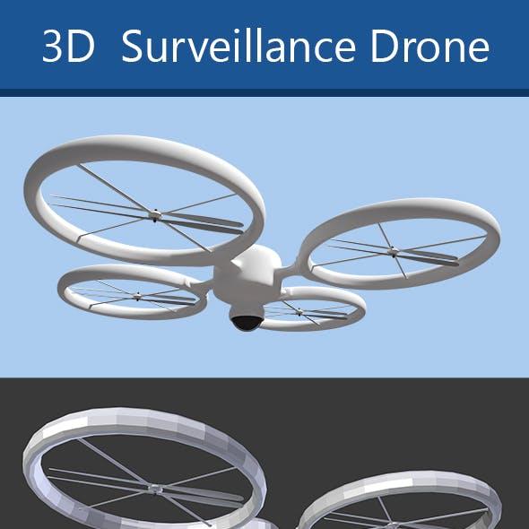 Modern surveillance drone