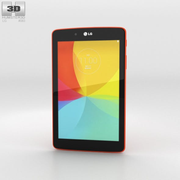LG G Pad 7.0 Luminous Orange - 3DOcean Item for Sale
