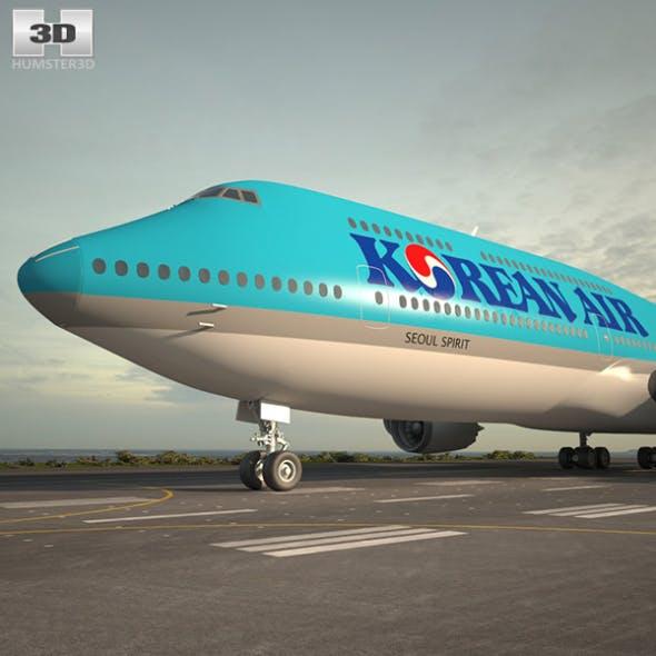 Boeing 747-8I Korean Air
