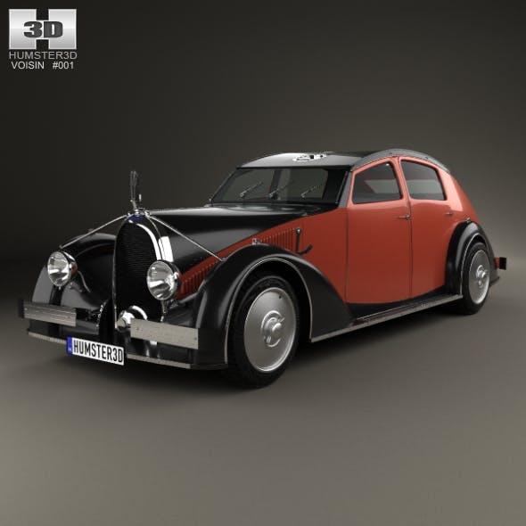Avions Voisin C25 Aerodyne 1934 - 3DOcean Item for Sale