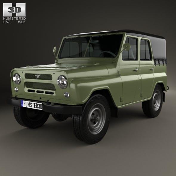 UAZ 469 B 1972