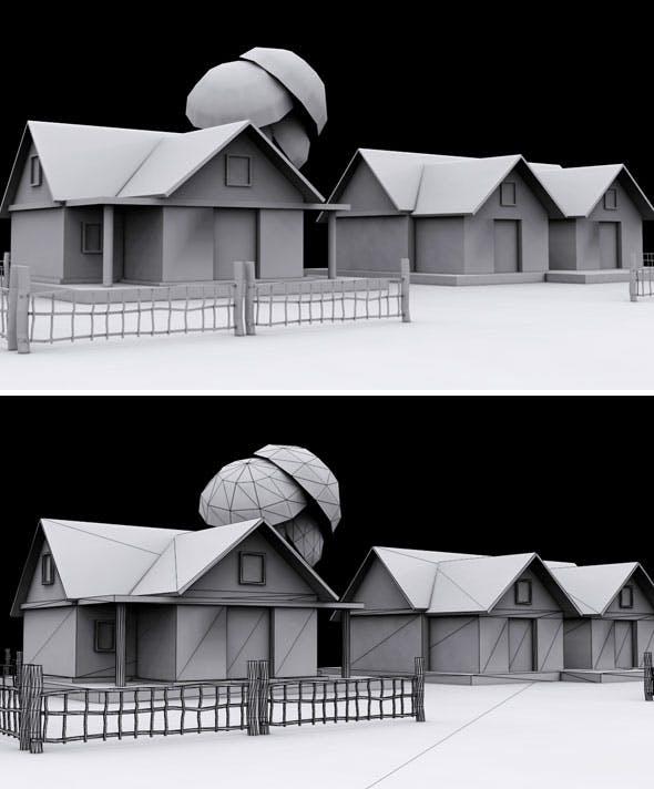 House Vol 1 - 3DOcean Item for Sale