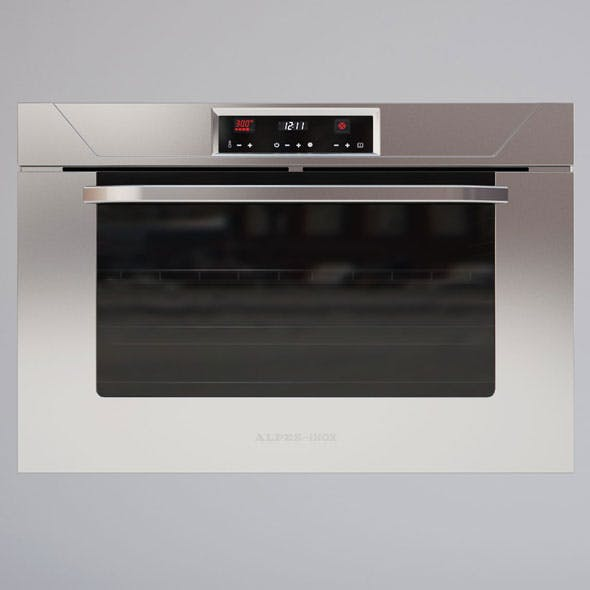 Alpes Inox Kitchen Oven - 3DOcean Item for Sale