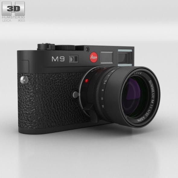 Leica M9 Black - 3DOcean Item for Sale