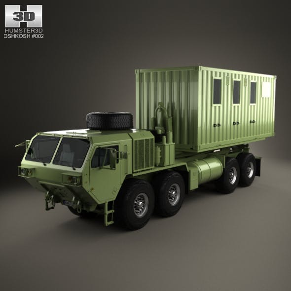 Oshkosh M1120A4 Load Handling System 2011 - 3DOcean Item for Sale