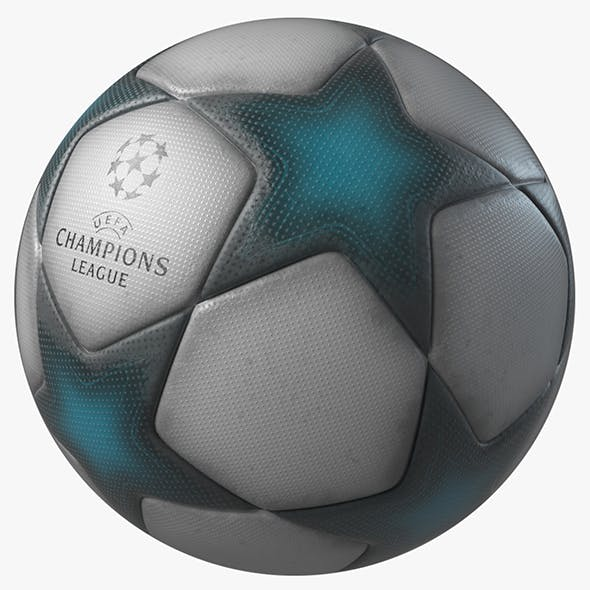 UEFA Champions League Ball 3D Model V2