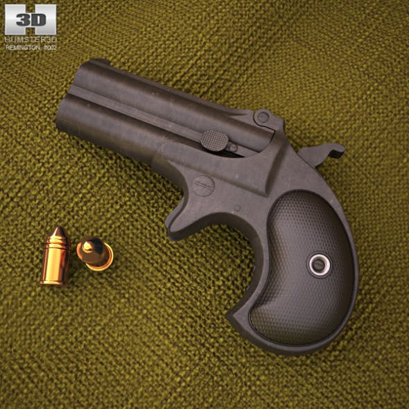 Remington 1866 Derringer - 3DOcean Item for Sale