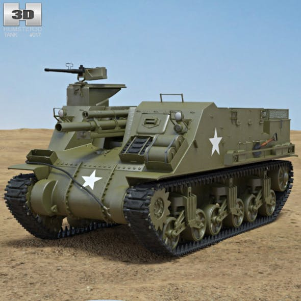 M7 Priest - 3DOcean Item for Sale