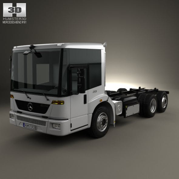 Mercedes-Benz Econic Chassis Truck 2009 - 3DOcean Item for Sale