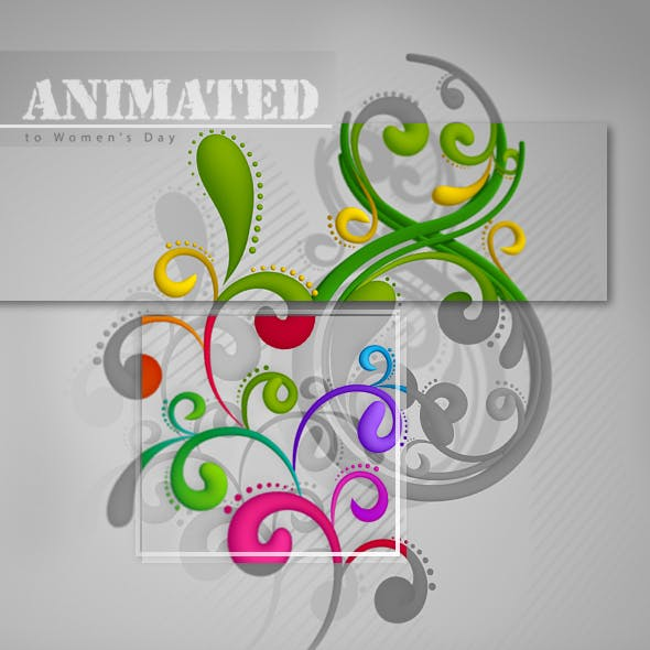 Animated 3D Patterns