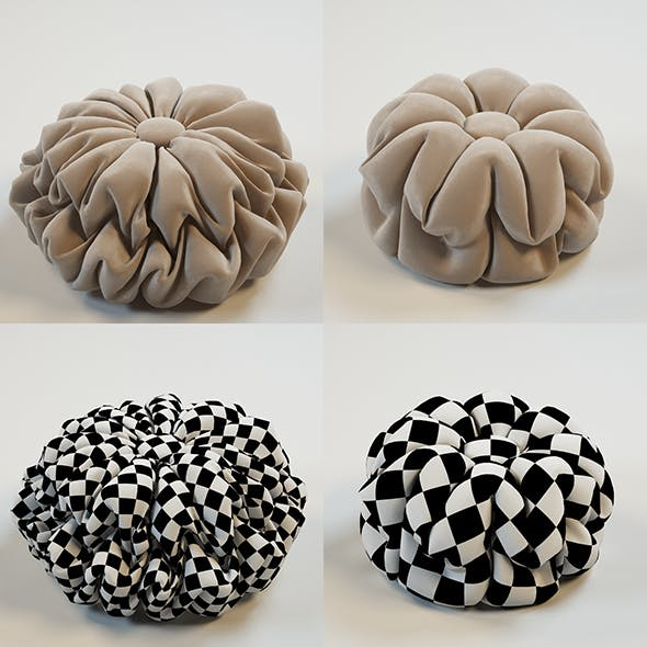 Decorative Pillows - 3DOcean Item for Sale
