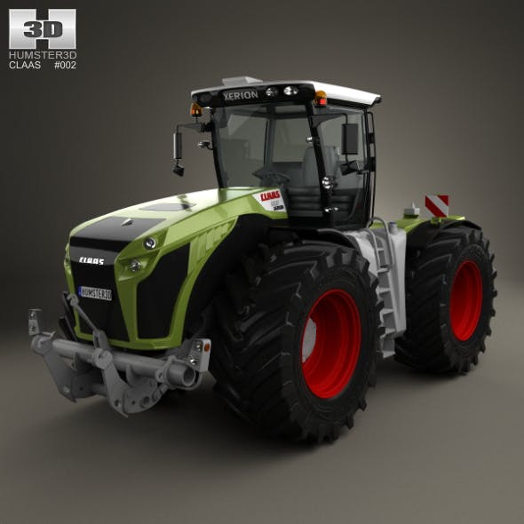 Claas Xerion 5000 Trac VC 2014 - 3DOcean Item for Sale