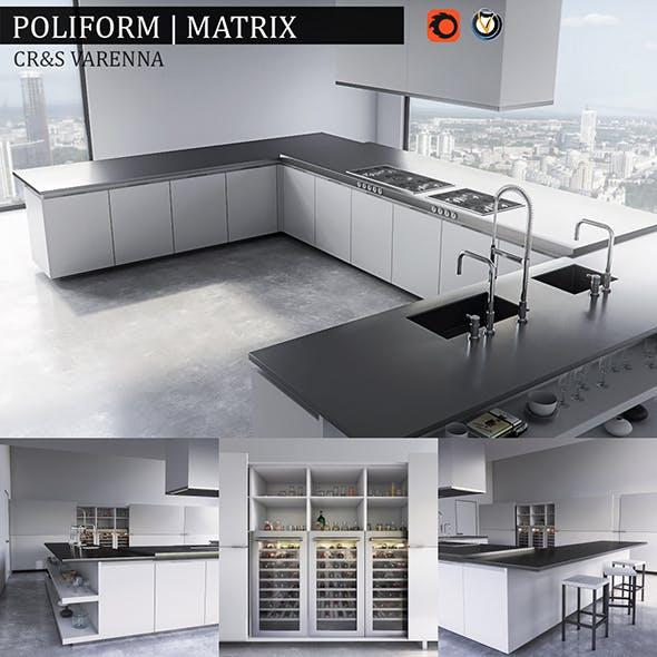 Kitchen Matrix - 3DOcean Item for Sale