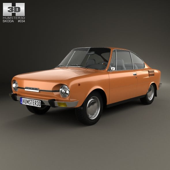Skoda 110 R 1970 - 3DOcean Item for Sale